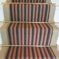 Stair Carpet Earth Tones  Tone Rug