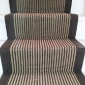 Stair Carpet Natural and Brown
